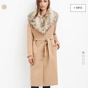 Forever 21 size M camel style duster